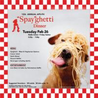 """""""Spay""""ghetti Dinner - February 26"""