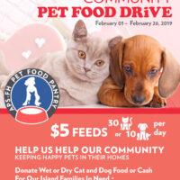 2019 Pet Pantry Food Drive
