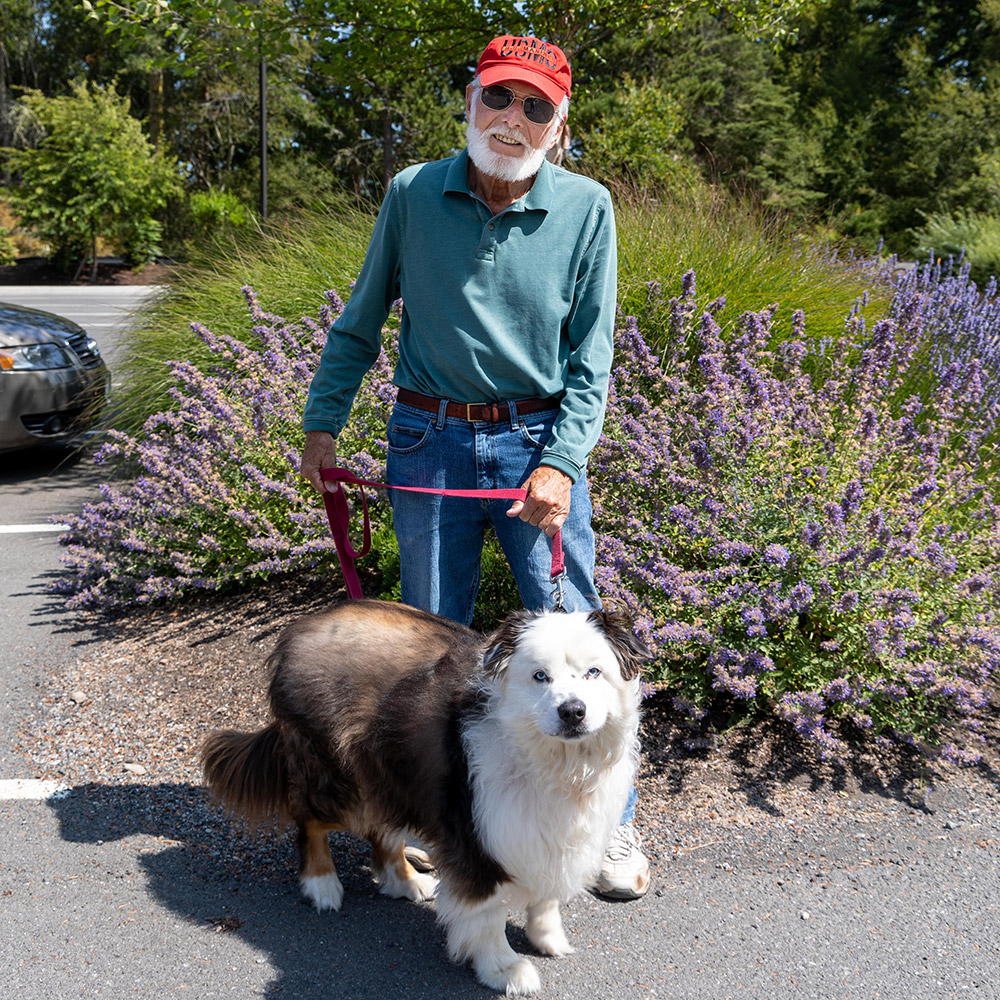 volunteer of the month dave